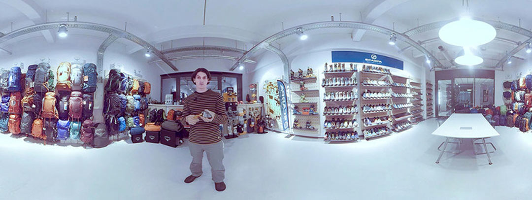 Virtueller Showroom 360°