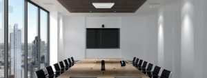 (Fast) unsichtbare Konferenztechnik