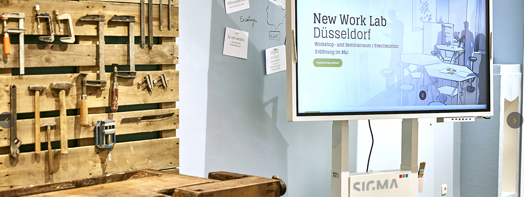New Work Lab Düsseldorf zur goldenden Idee