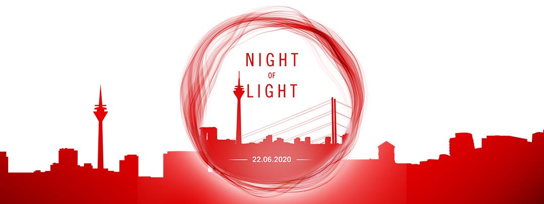 Night of Light Düsseldorf – Zeichen für Veranstaltungsbranche – COVID CORONA Krise