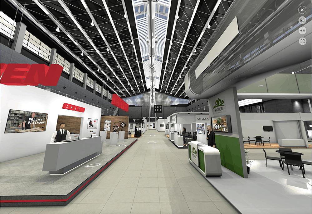 virtuelle messen und showrooms sigma düsseldorf