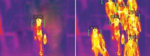Corona Einlasskontrolle Temperatur Fieber Körpertemperatur Wärembildkamera